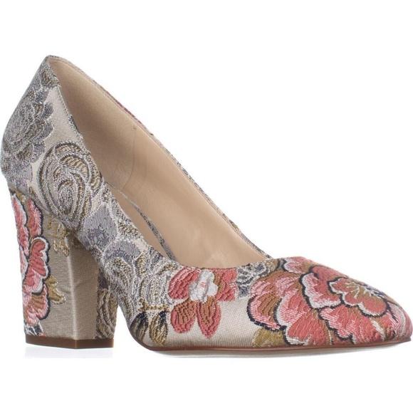 6e000264ecb NIne West Women's Classic Floral Scheila Pump 7 M